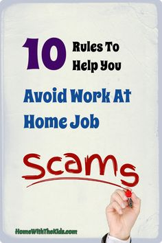 One of the hardest parts of finding a work at home job is avoiding all of the scams. Learn the signs that will alert you to most work at home job scams before you start your job hunt. Work From Home Tips, Make Money From Home, Way To Make Money, Make Money Online, Business Tips, Online Business, List Of Skills, Job Search, Helpful Hints