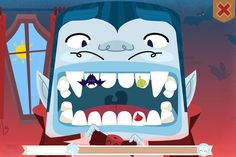un, free toothbrushing apps for kids: Even little vampires can save their teeth from rot with the fun Toothsavers tooth brushing app.