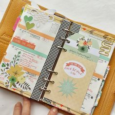 Planner Pages~ love this idea~ must do this with the Cricut Artbooking cartridge from CTMH            bama92.ctmh.com