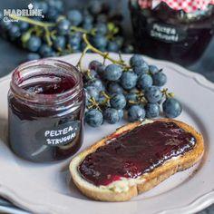 Peltea de struguri / Homemade grape jelly Gem, Pancakes, Goodies, Breakfast, Food, Kitchens, Sweet Like Candy, Morning Coffee, Gummi Candy