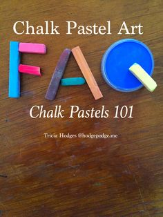 Chalk pastel art frequently asked questions from the type of chalk pastels, the differences, how to add art time and more in day five of Chalk Pastels 101.