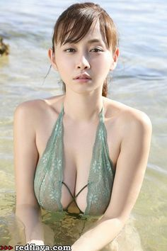 Anri Sugihara - Seminude, Outdoor Set