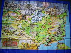 teddy ruxpin map Teddy Ruxpin, Childhood Memories, Map, My Favorite Things, Painting, Location Map, Painting Art, Paintings, Maps
