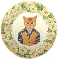 I like it when plates align a wall. Oh, and there will be cat objects all over my house, but that was expected, right?