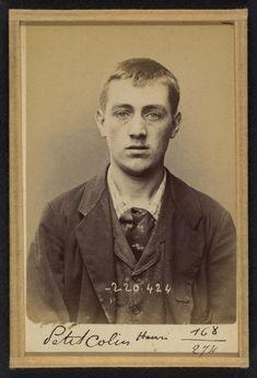 Alphonse Bertillon (French, 1853 - 1914) 'Peticolin. Henri. 23 ans, nŽ le 8/6/71…
