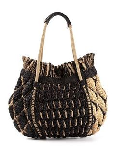 Women's Designer Handbags on Sale - Farfetch ...crochet inspiration ONLY...