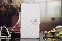 Chanel Samsung Note 5 Covers Wallet White Sleeve Coque Fundas Capa Para
