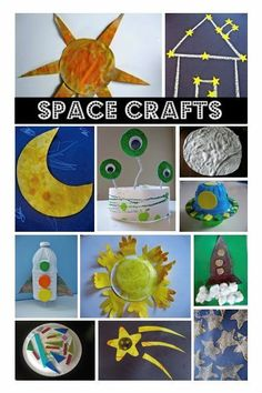 This site is pretty neat! She has lots of great ideas that you can use for a space unit, or for a child who is super interested in space! ( I love repining pins that have rad things to say about my work ! )