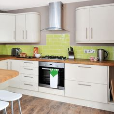 Küchen Küchenideen Küchengeräte Wohnideen Möbel Dekoration Decoration Living Idea Interiors home kitchen - Creme moderne Küche