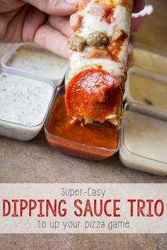 3 Pizza Dipping Sauces to Upgrade Your Big Game Party!