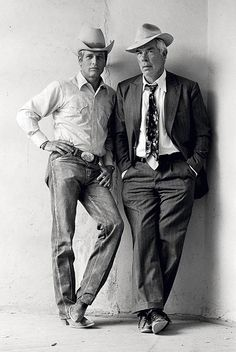 Paul Newman and Lee Marvin (while filming Pocket Money, 1972) 1972.Terry O'Neill. Silver gelatin print