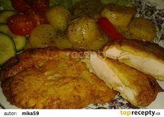 Řízečky v sýrovo-bramborovém těstíčku - marinované recept - TopRecepty.cz