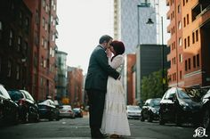 Manchester City Centre Wedding- Urban loveliness with Vintage flair  New york…