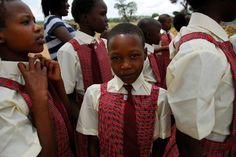 Uniforms in Kenya #school #education