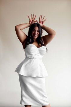 The Hottest Boho Bridal Line Just Announced a Beautiful Plus-Size Collab via Brit + Co