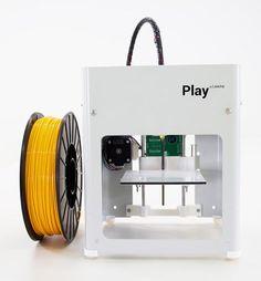 Lewihe Play is a $77 3D printer for Makers. #Atmel #3DPrinting #3DPrinters #Lewihe