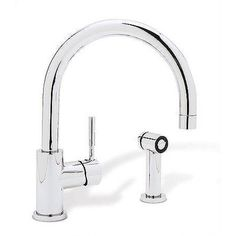 Blanco Meridian Single Hole Single Handle Kitchen Faucet with Side Spray   AllModern