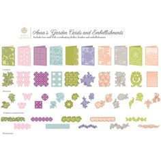 Garden Cards and Embellishments - Google Search