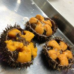 Fresh uni ( sea urchin_ I pass on this. To me it has no flavor.