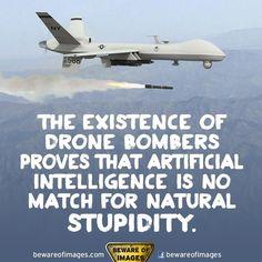 Natural stupidity.
