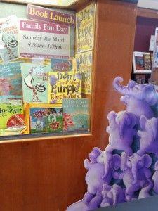 MacLeans Booksellers book display