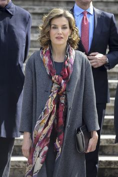 Queen Letizia of Spain attends the