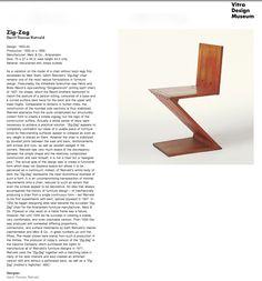 Le migliori 25 immagini su Gerrit Rietveld | Sedie, Sedia