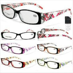Reading Glasses for Women Colorful Designs - Fashionable