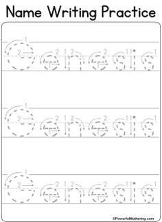 Custom name tracing worksheets | Centers | Pinterest | Tracing ...