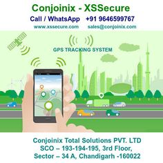 XSSecure - GPS Tracking System in Chandigarh India - #XSSecure #AIS140Device #GPSTrackingSystem #GPSTracker Chandigarh, Vehicle Tracking System, India, School, Goa India, Indie, Indian