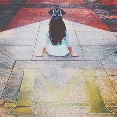 Take photos at your favorite spots on campus! #MGoGrad