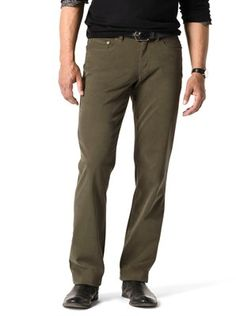 Classic 5-Pocket Sueded Twill