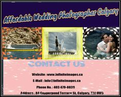 Infinite Images have more experience in capturing on various occasions. You can get your each photograph unique & memorable. Infinite Image is one of the most award winning #wedding_photographers_in_Calgary providing a variety of photography services at the most reasonable price.