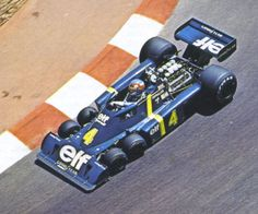 Tyrrell P34 1976 Patrick Depailler (La Tyrrell a 6 rote!)