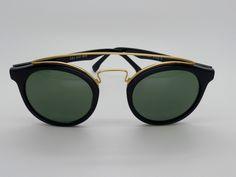 ray ban made in usa  Vintage Ray Ban Gatsby Style 6 W1522 B\u0026L Original Sunglasses made ...