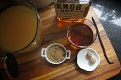 Hot Vanilla Cider - it's like @shutterbean knows what my boozy family will want for christmas!