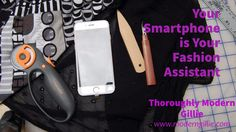 smartphone fashion assistant, www.moderngillie.com