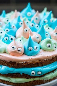 kleine Monster Torte