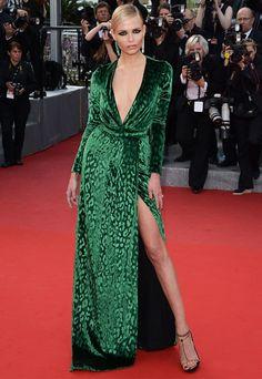 Natasha Poly at the Cannes Film Festival.