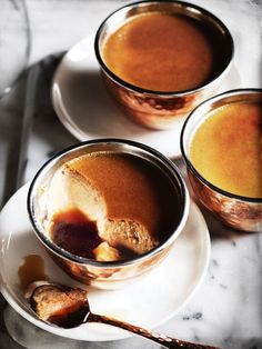 Donna Hay kitchen tools, homewares, books and baking mixes. Quick and easy dinner or decadent dessert - recipes for any occasion. Creme Caramel, Mousse, Just Desserts, Dessert Recipes, Donna Hay Recipes, Panna Cotta, Cannoli, No Bake Treats, Cocoa