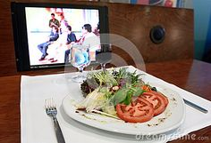 Lunch Break, Healthy Food Royalty Free Stock Image - Image: 30890306