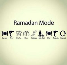 Although Ramadan is over halfway done, don't slow down! Keep your spirituality high!