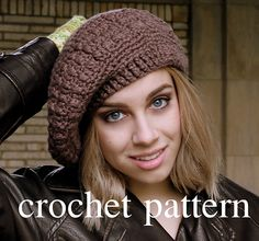 Ravelry: Extra Slouchy, Stretchy Band Hat pattern by Leslie Young