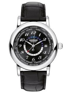 Five Montblanc Watches Under $5,000 | WatchTime - USA's No.1 Watch Magazine (Montblanc Star Traditional Collection World-Time GMT Automatic)