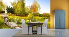 Fototapety - Krajina | Zelený park - 126 x 84 cm | IzbaDekor.sk - všade dobre doma najkrajšie Vám ponúka: nálepky na stenu, moderné obrazy, fototapety a iné dekorácie na stenu