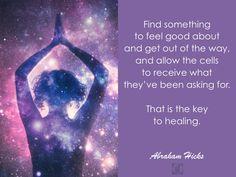 #AbrahamHicks #PhysicalBody #Key