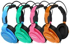 Color Headphones that actually sound really good!!!
