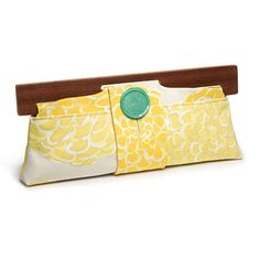 Vintage Fabric Clutch from pistol-stitched.com; $98