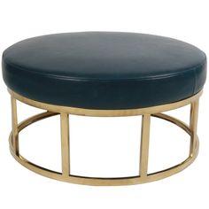 Fine 65 Best Round Ottoman Images Round Ottoman Ottoman Furniture Theyellowbook Wood Chair Design Ideas Theyellowbookinfo