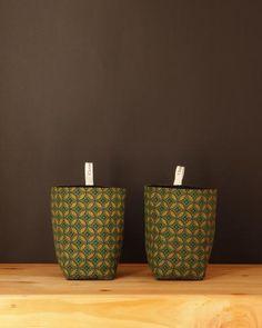 Fabric Storage Basket - Chameleon Goods - $12.95 #homedecor #fabricbasket #homestorage